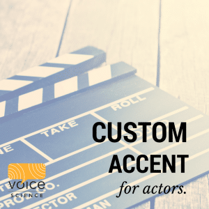 Accent course for actors in Melbourne