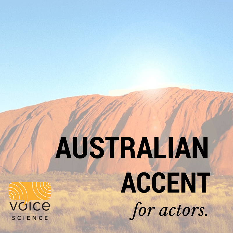 Australian Accent Course for Actors