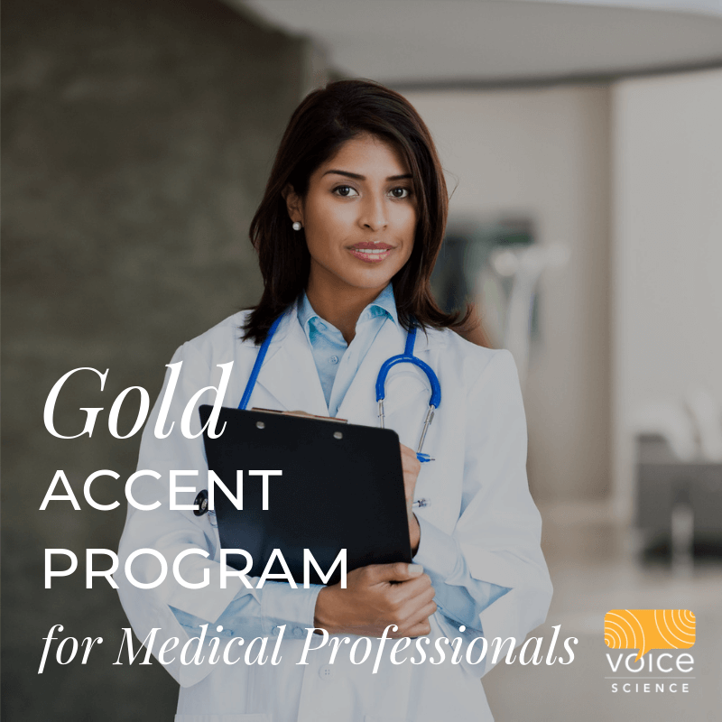 Gold Accent program for medical professionals