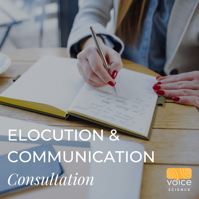 Elocution and Communication Consultation
