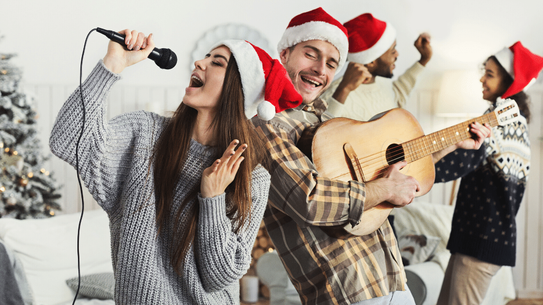 All I want for Christmas is… a healthy singing voice